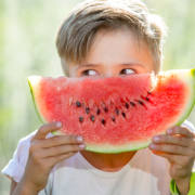 kidwithwatermelon